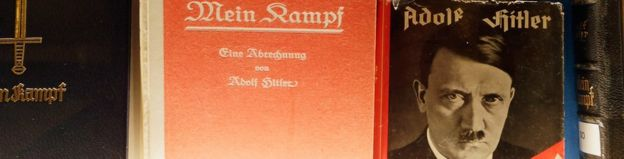 Historic copies of Adolf Hitler's