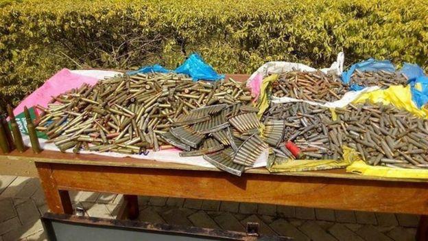 Bullets found in Kumasi