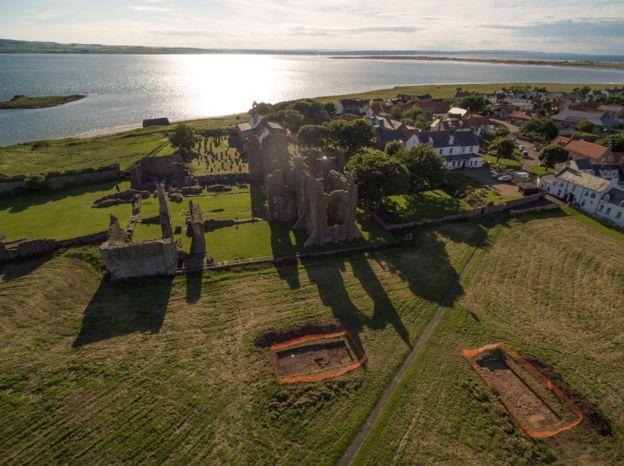 Dig Ventures digs on Lindisfarne