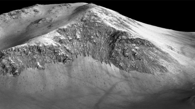 Recurring slope lineae