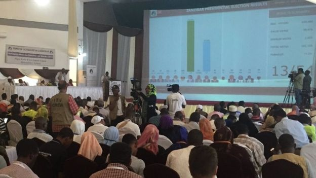 Electoral commission in Zanzibar - 27 October 2015