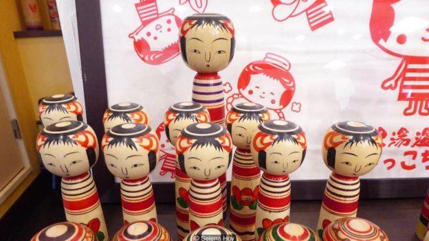 It is said that Nintendo's Mii avatars are based off the kokeshi dolls
