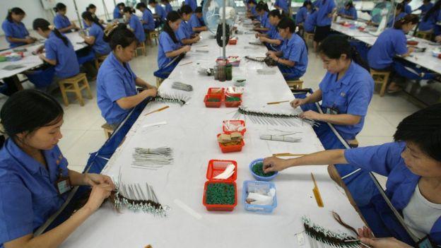 Manufactura en China