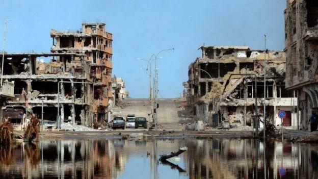 Sirte in Libya