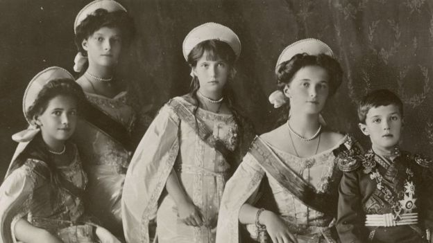 Russian royal family, 1914