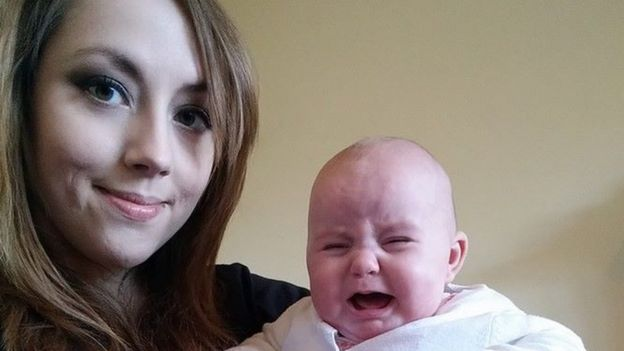 Holly Brockwell with her niece