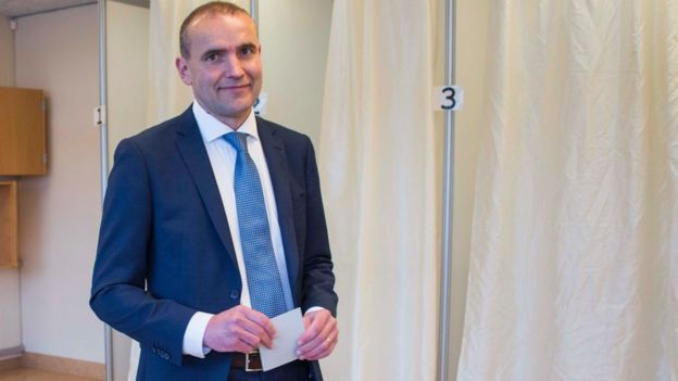 Presidente Gudni Johannesson