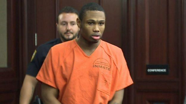 James Rhodes durante el juicio.