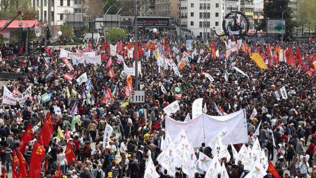 Türkiye'de sokak gösterileri