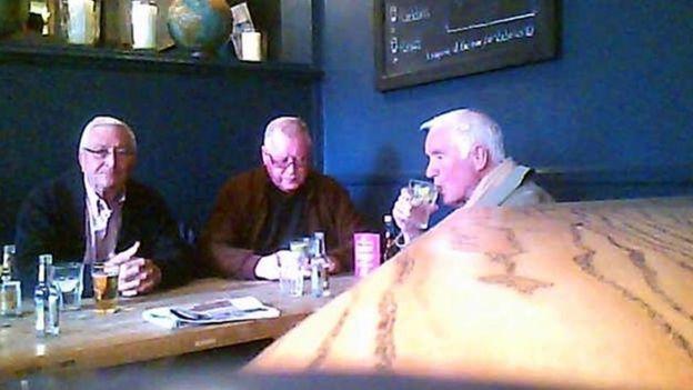 Hatton Garden gang - John Collins, Terry Perkins and Brian Reader