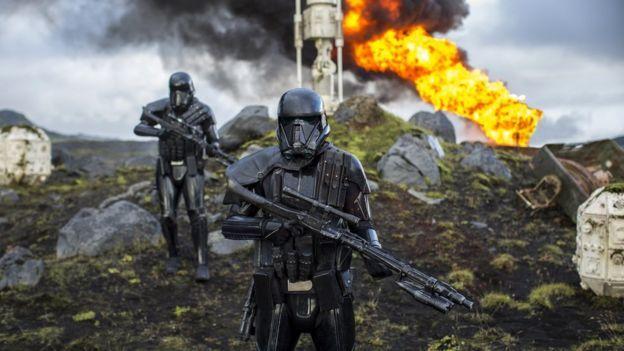 Imágenes de la Guerra de las Galaxias