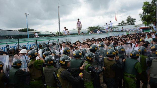 Trấn áp học viên cai nghiện bỏ trốn ở Đồng Nai, 07/11/2016