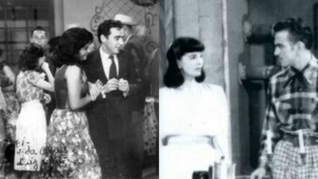 Montagem - Vida Alves em cenas com Walter Foster