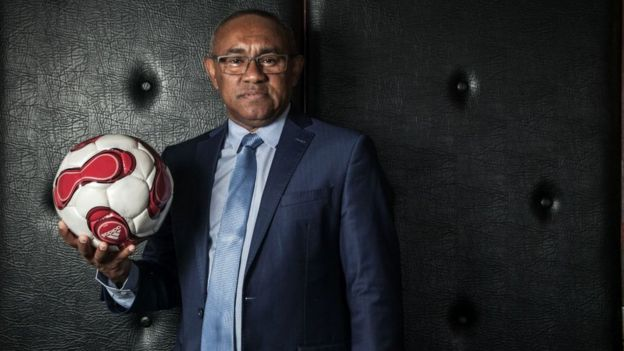 Madagascar FA head Ahmad Ahmad