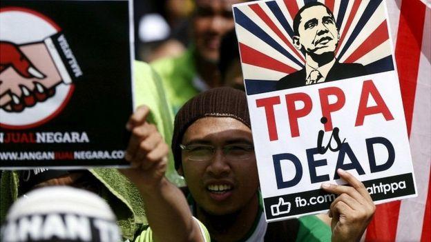 شمار زیادی از افراد مخالف سیاستهای تجارت آزاد هستند