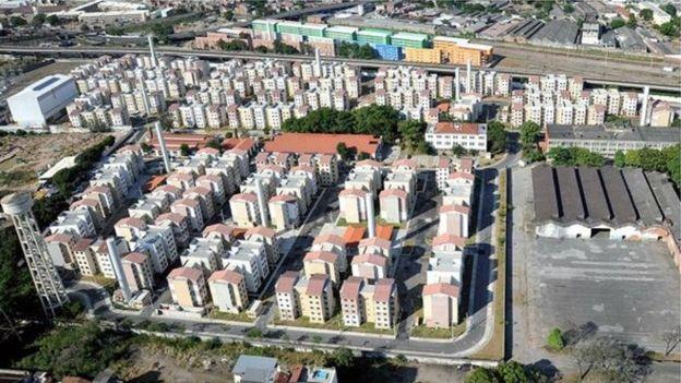 Conjunto do Minha Casa Minha Vida no Rio