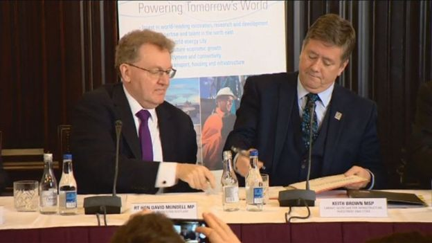 David Mundell and Keith Brown