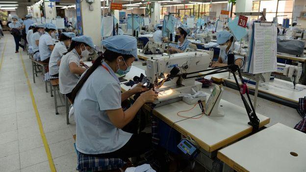 Vietnamese garment workers