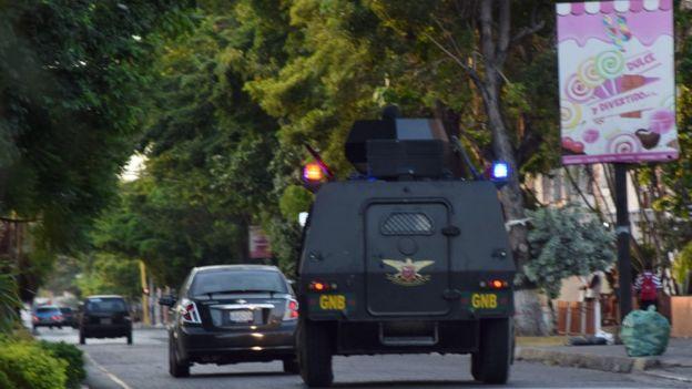 Guardia en Cumaná
