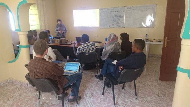 Lizzie Wood, who runs the Research and Evaluation Services consultancy, in Somaliland