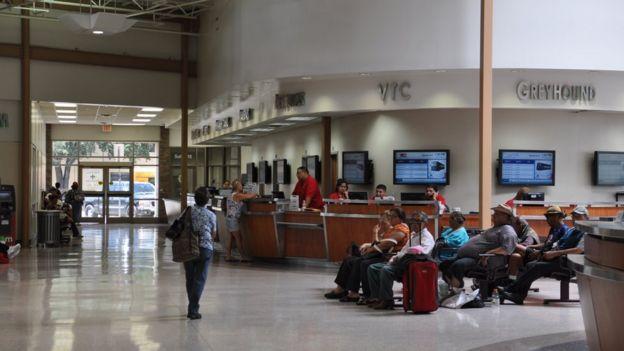 Estación de buses de McAllen