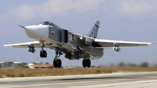 Resultado de imagen de Su-24M en siria