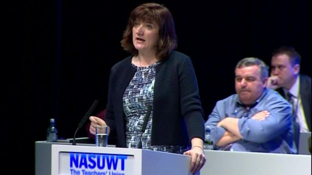 Nicky Morgan speaks to NASUWT conference
