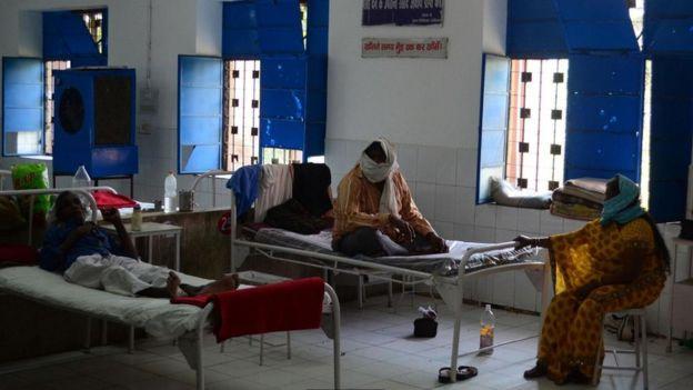 Afrika'da hastane ve hastalar