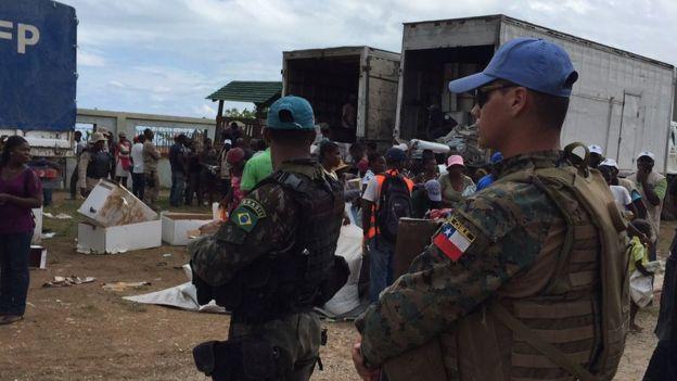 Militares chilenos e brasileiros