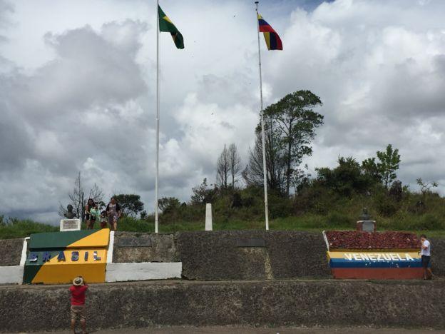 Frontera entre Brasil y Venezuela