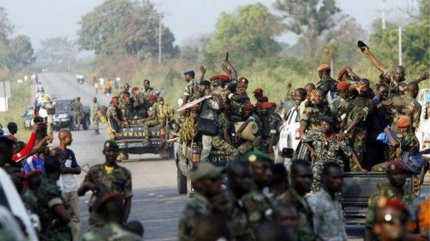 Côte d'ivoire: Une mutinerie en cours, des tirs de plusieurs soldats entendus dans trois villes...Explications