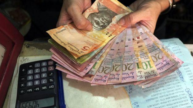 Billetes venezolanos