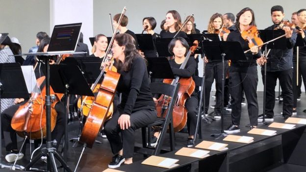 Michael Kors's orchestra