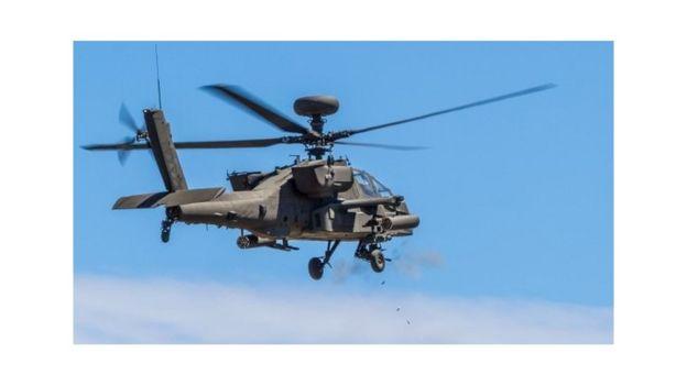 Helikopta aina ya Apache ya jeshi la Marekani