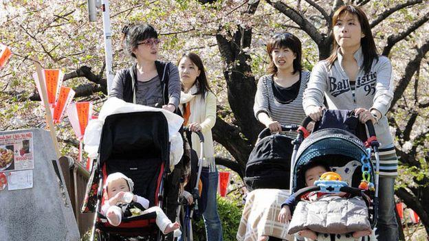 出生率の低下もあり、日本の人口は2050年には9700万人になるとみられている