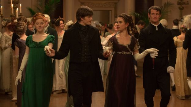 Dance scene from Pride and Prejudice and Zombies