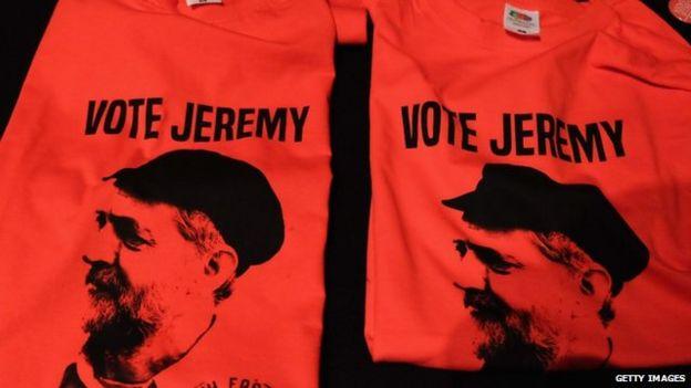 Jeremy Corbyn t-shirts