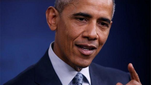 President Barack Obama speaks at the Pentagon.