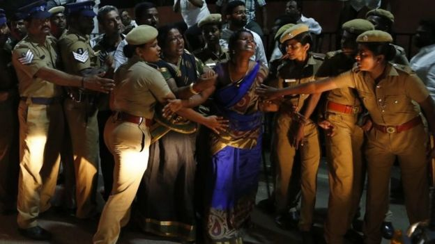 Maafisa zaidi wa polisi wametumwa Chennai