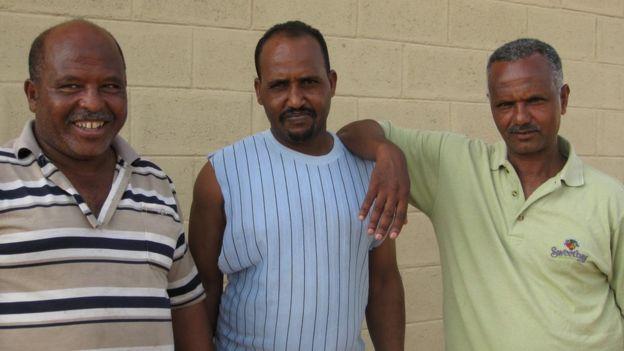 Busha mine workers