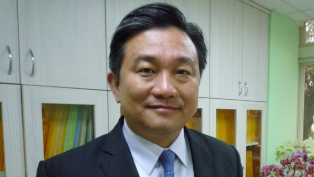 Wang Ting-yu, chairman of the defence committee in Taiwan's parliament