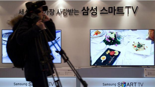 Samsung'un F8000 model akıllı televizyonuna sızılabiliyor
