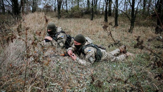 Українській бійці відбивали прорив ворожої ДРГ