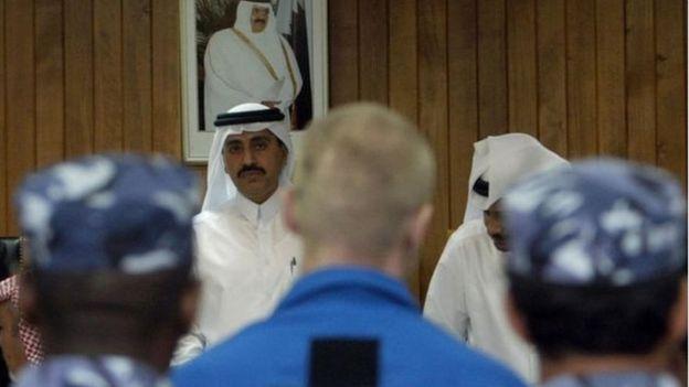 یکی از دو روسی که سال ۲۰۰۴ در قطر محاکمه شدند