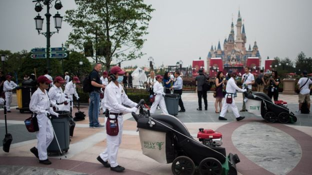 Disney en China