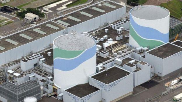 Reactors 1 and 2 at Sendai nuclear plant, Japan (7 July Aug)
