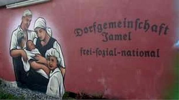 ... mural in Jamel - file pic