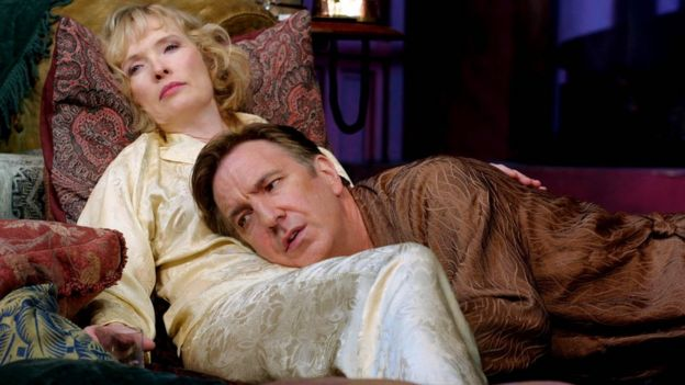 Linsday Duncan and Alan Rickman in Private Lives