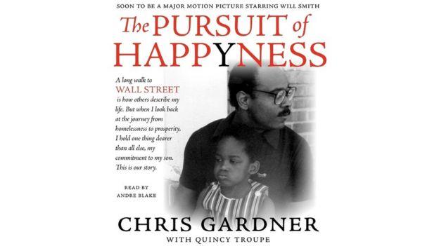 La portada del primer libro de Chris Gardner