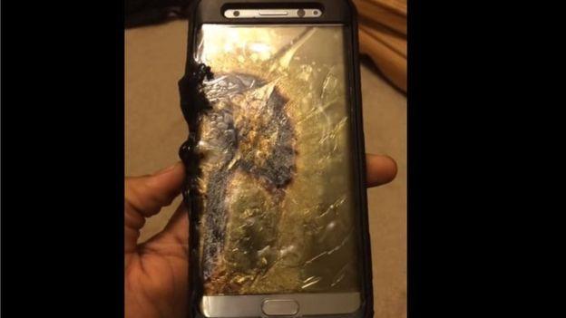Samsung dừng sản xuất Galaxy Note 7 sau vụ điện thoại bị cháy